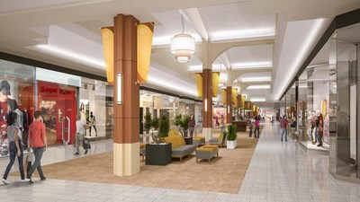 Interior mall renovations planned for 2016 include new corridor seating, new lighting and flooring.