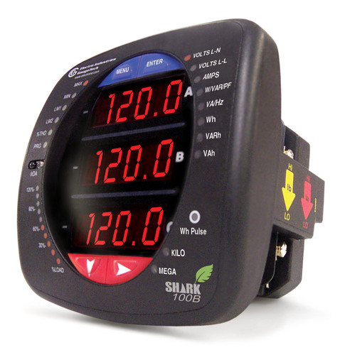 Shark 100 Meter : Electro industries shark b meter declared ec m