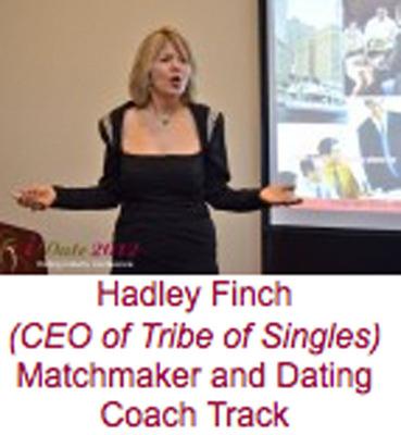 Hadley Finch - IDate Speech.  (PRNewsFoto/TribeOfSingles.com)