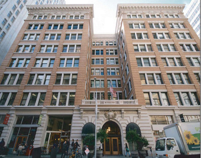 The Rialto Building, a landmark turn-of-the-century office and retail property situated in San Francisco's prime South Financial District. Courtesy of AFI USA.  (PRNewsFoto/Africa Israel USA)
