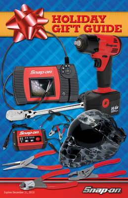 Make it a Happy Holiday with Great Gifts from Snap-on.  (PRNewsFoto/Snap-on Tools)