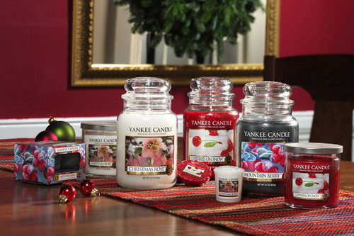 Yankee Candle Launches Three New Holiday Fragrances