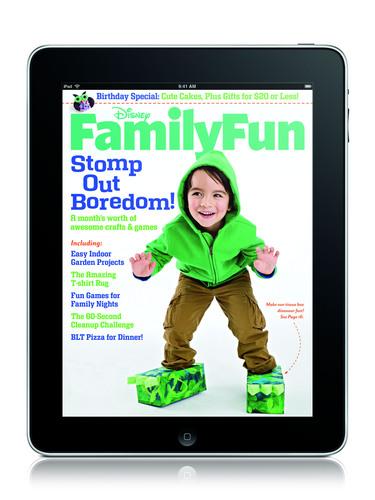 Disney FamilyFun Magazine Now Available on iPad