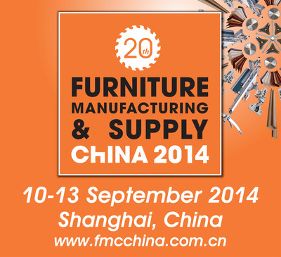 FMC China 2014, September 10-13, 2014, Woodworking Machinery & Furniture Raw Materials, Shanghai, China.  (PRNewsFoto/Sinoexpo)