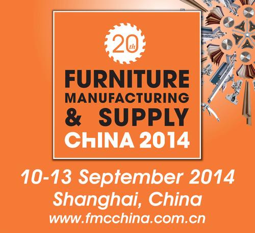 FMC China 2014, September 10-13, 2014, Woodworking Machinery & Furniture Raw Materials, Shanghai, China.  (PRNewsFoto/Sinoexpo)