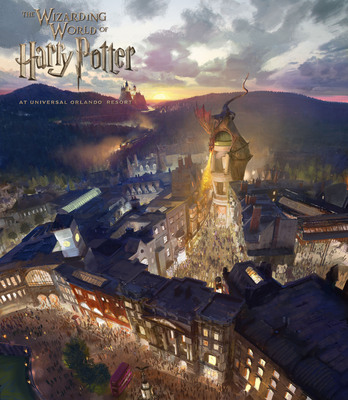 The Wizarding World of Harry Potter - Diagon Alley will come to life at Universal Orlando Resort in 2014. Diagon Alley and 'London' will be located within Universal Studios Florida. Guests will travel between 'London' and the existing Hogsmeade at Universal's Islands of Adventure aboard the Hogwarts Express - just like in the books and film. Diagon Alley and 'London' will feature shops, a restaurant and a marquee attraction based on Gringotts bank. HARRY POTTER, characters, names and related indicia are trademarks of and (C) Warner Bros. Entertainment Inc. Harry Potter Publishing Rights (C) JKR. (s13) (C) 2013 Universal Orlando Resort. All Rights Reserved.  (PRNewsFoto/Universal Orlando Resort)