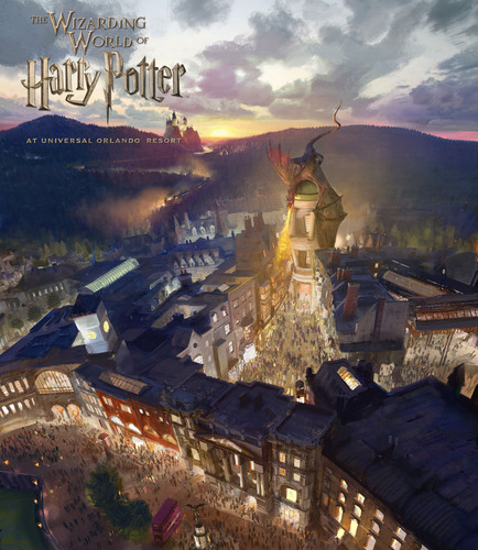 The Wizarding World of Harry Potter - Diagon Alley will come to life at Universal Orlando Resort in 2014. Diagon Alley and 'London' will be located within Universal Studios Florida. Guests will travel between 'London' and the existing Hogsmeade at Universal's Islands of Adventure aboard the Hogwarts Express - just like in the books and film. Diagon Alley and 'London' will feature shops, a restaurant and a marquee attraction based on Gringotts bank. HARRY POTTER, characters, names and related indicia are trademarks ...