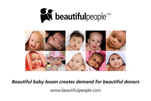 BeautifulPeople.com Launches Virtual Sperm Bank