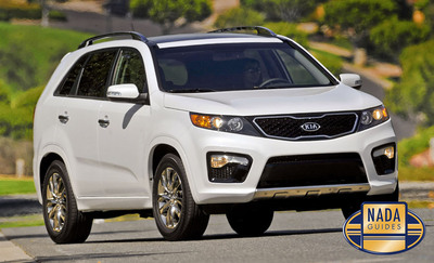 The 2013 Kia Sorento Named NADAguides June Featured Vehicle.  (PRNewsFoto/NADAguides)