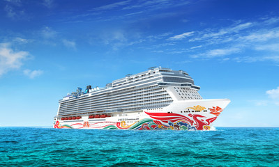 Norwegian Cruise Line commissions Renowned Chinese Artist Tan Ping to Paint the Hull of its New Breakaway-Plus Class Vessel for China, Norwegian Joy