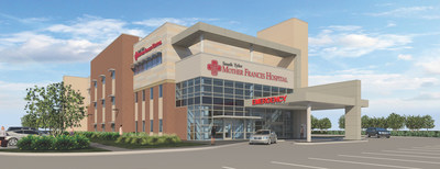 Rendering: Mother Frances Hospital South Tyler