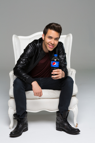 Pepsi announces music partnership with multi-platinum recording artist Prince Royce. (PRNewsFoto/PepsiCo)