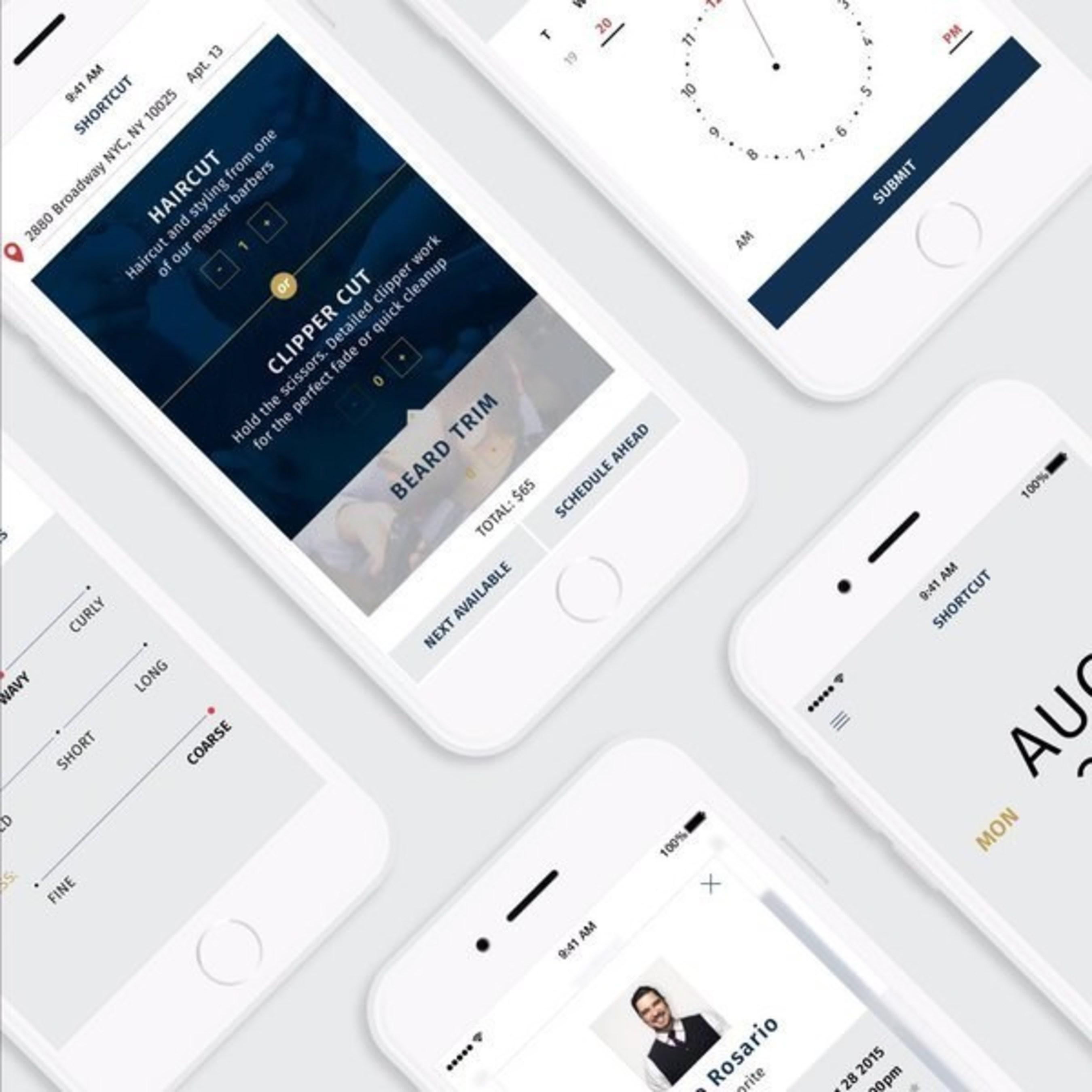 Shortcut Mobile App Interfaces