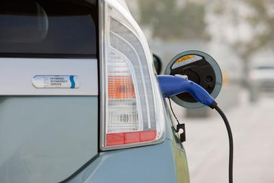 2012 Prius Plug-in.  (PRNewsFoto/Toyota Motor Sales, Inc.)