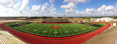 AstroTurf 3D Field at Refugio's Stadium in Texas. (PRNewsFoto/AstroTurf)