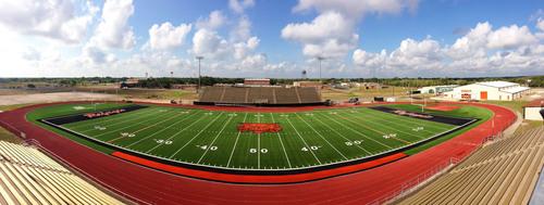 AstroTurf 3D Field at Refugio's Stadium in Texas. (PRNewsFoto/AstroTurf)