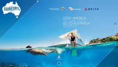 #AustraliaSomeday Giveaway Gives You A Chance To Win One of 52 Aussie Trips.  (PRNewsFoto/Tourism Australia)