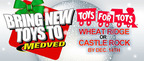 Both Medved locations are Toys For Tots drop-off points