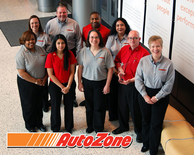 ORC International honors AutoZone with top employee engagement award.  (PRNewsFoto/ORC International)