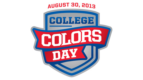 Millions of Fans to Celebrate College Colors Day on August 30 to Kick-Off the 2013 College Football