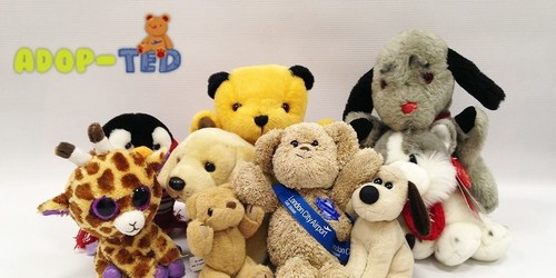Airport launches campaign to rehome lost and unwanted teddies to help raise money for charity. (PRNewsFoto/London City Airport) (PRNewsFoto/London City Airport)