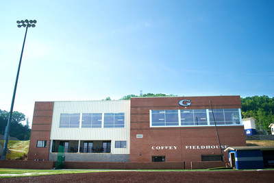 The recently completed GCA Coffey Fieldhouse designed by Studio Four Design was created to meet the needs of both students and faculty.