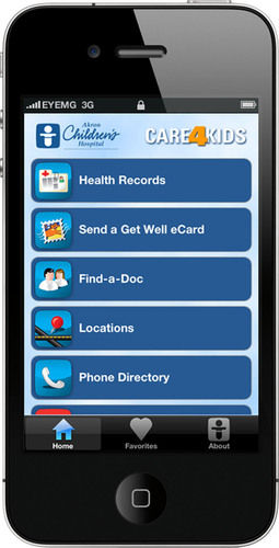 Akron Children's Introduces Free iPhone App