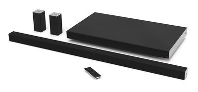VIZIO brings high performance 5.1 home theater sound bar systems to Canada. Collection features next generation VIZIO SmartCast with Google Cast built-In for simple WiFi casting from anywhere in the home.