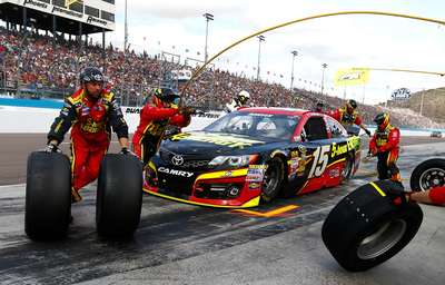 Michael Waltrip Racing and Zebra partner to create a pit crew evaluation system using the Zebra MotionWorks solution. (PRNewsFoto/Zebra Technologies Corporation)