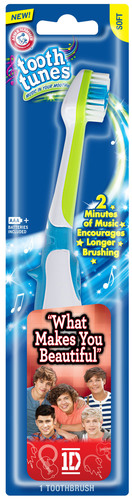 ARM & HAMMER(TM) Tooth Tunes(TM) What Makes You Beautiful performed by One Direction.  (PRNewsFoto/Church & ...