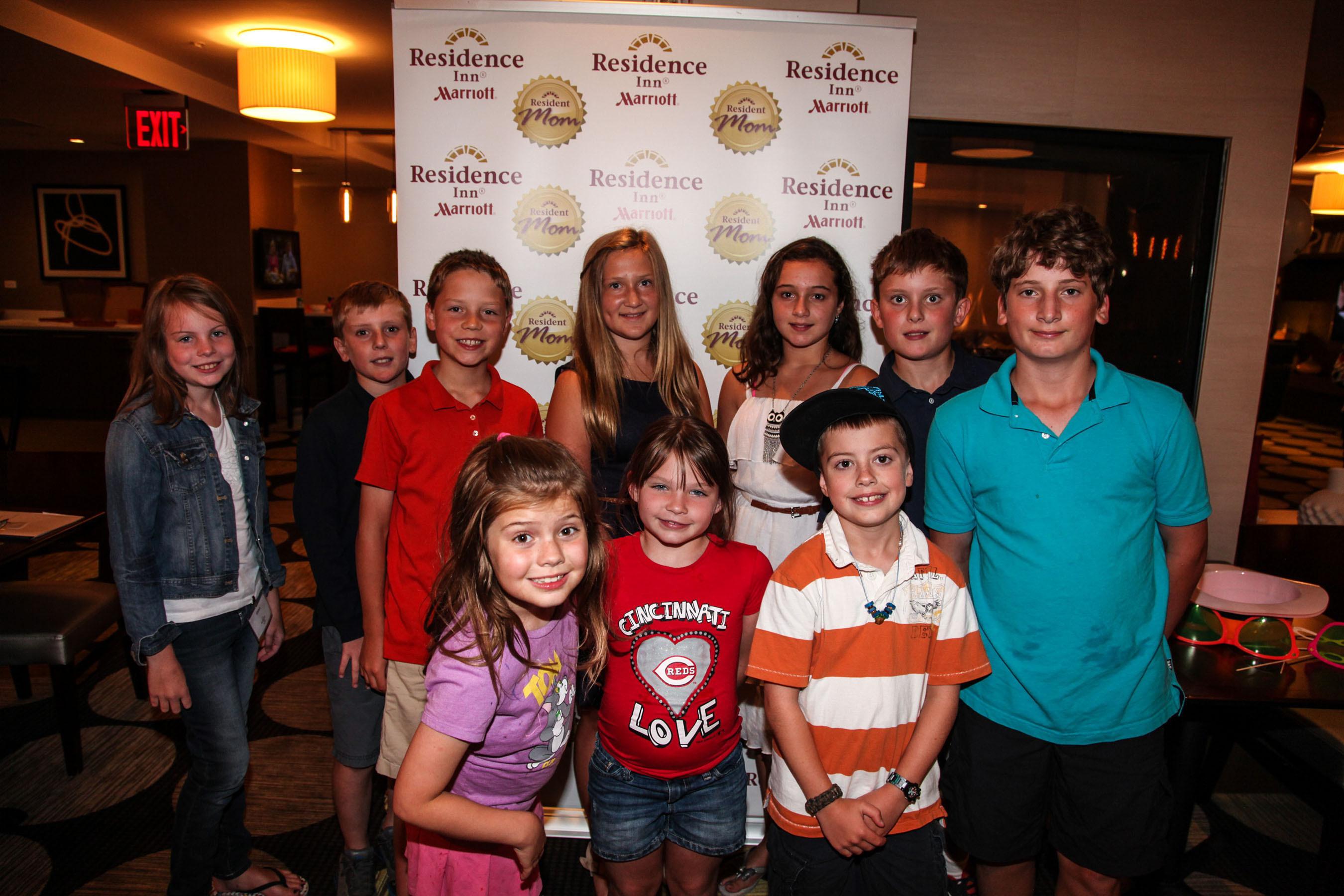 Residence Inn Hosts First-Ever Kids Roundtable on Travel.  (PRNewsFoto/Residence Inn by Marriott)