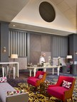 """Sonesta Gwinnett Place Atlanta's new lobby following a complete hotel redesign by Sims Patrick Studio. The remodel was themed around """"Southern charm meets modernism"""" for the 426-room property. (PRNewsFoto/Sonesta Gwinnett Place Atlanta)"""