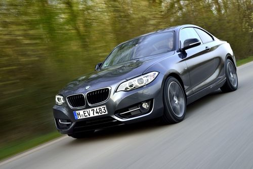 The new BMW 220i Coupe, sheer driving pleasure. (PRNewsFoto/BMW Group)