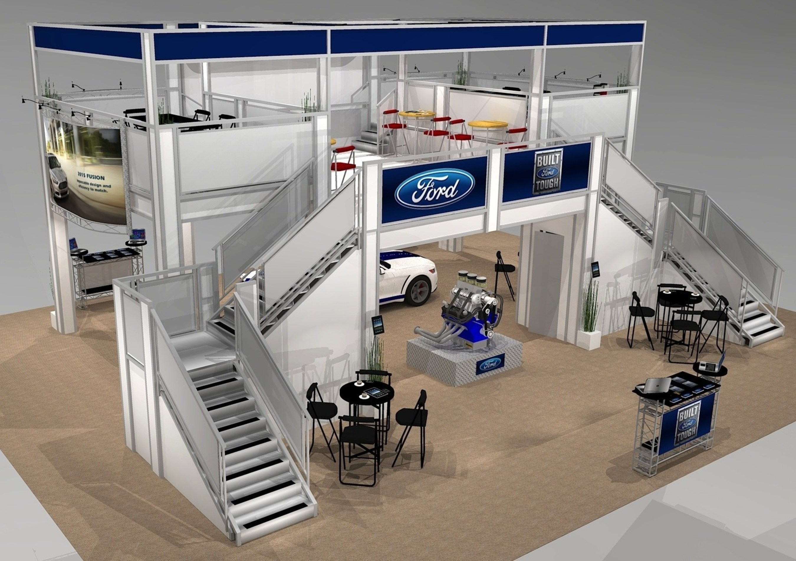 Innovative Website Rocks Trade Show Exhibit Rental Industry