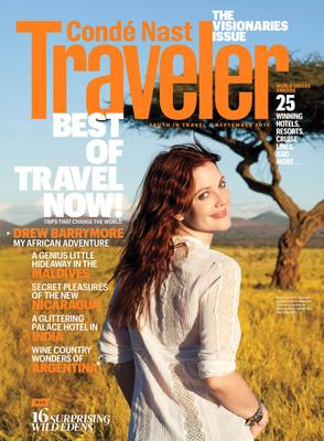 September Issue of Conde Nast Traveler.  (PRNewsFoto/Conde Nast Traveler, Brigitte Lacombe)