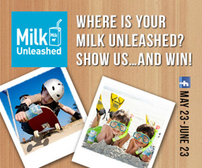 Milk Unleashed Photo Contest.  (PRNewsFoto/Tetra Pak)