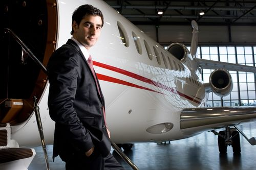 Julien Nargeot, new Dassault Falcon Sales Manager in the Middle East
