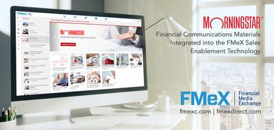 Morningstar becomes value added content partner on Financial Media Exchange