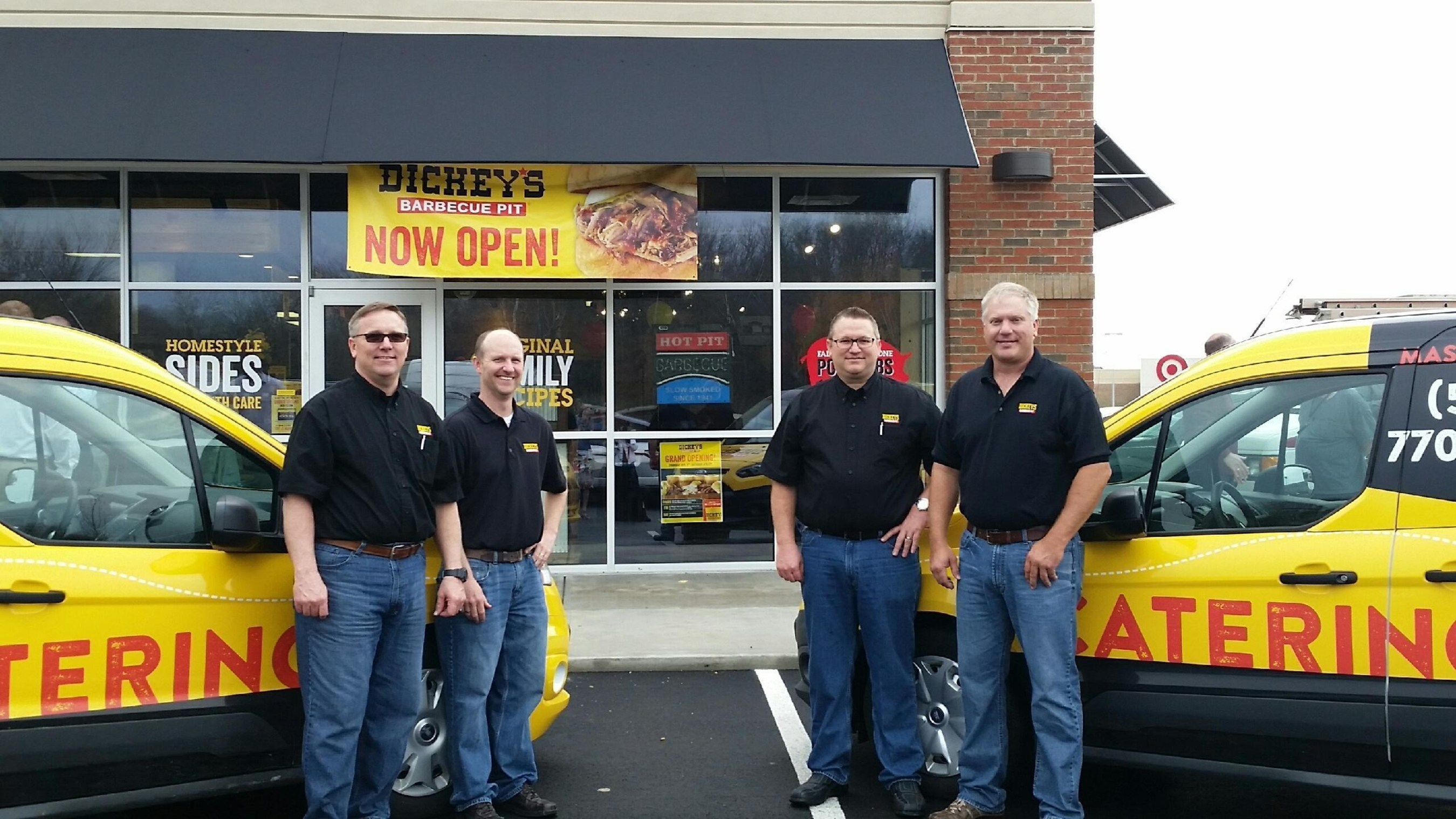 Dickey's Barbecue Pit in Mason opens Thursday with three day grand opening bash.