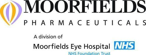 Moorfields logo (PRNewsFoto/Moorfield Pharmaceuticals)