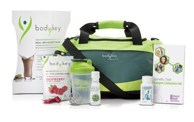 The BODYKEY by NUTRILITE Jump Start Kit helps kick start weight loss.  (PRNewsFoto/Amway)