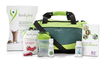 The BODYKEY by NUTRILITE Jump Start Kit helps kick start weight loss.  (PRNewsFoto/Amway)