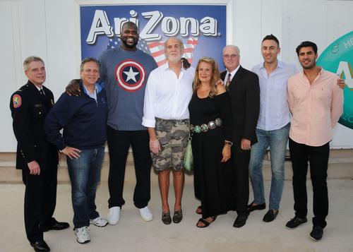 From Left to Right: John Berry, Ed Mangano, Shaquille O'Neal, Don Vultaggio, Ilene Vultaggio, Thomas Dale, ...
