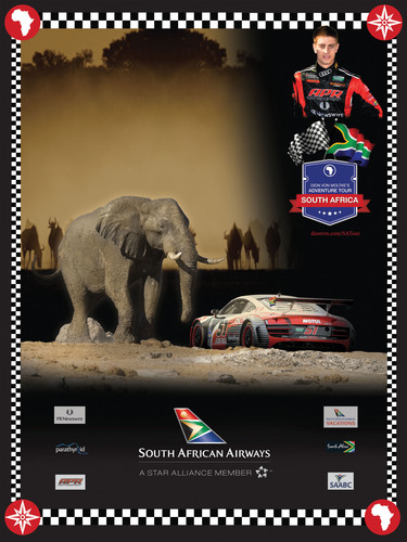 South African race car driver Dion von Moltke and South African Airways have created an adventure tour for fans of all motorsports that want to experience the best this country has to offer in an amazing package.  (PRNewsFoto/APR LLC)