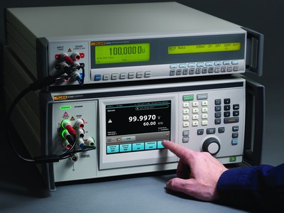 Artifact calibration is a capability found in the Fluke Calibration 5700 Series of electrical calibrators. Every 5700 Series calibrator uses this self-adjustment technique when it is routinely calibrated, whether on an annual basis or at whatever frequency routine calibration is performed. (PRNewsFoto/Fluke Calibration)