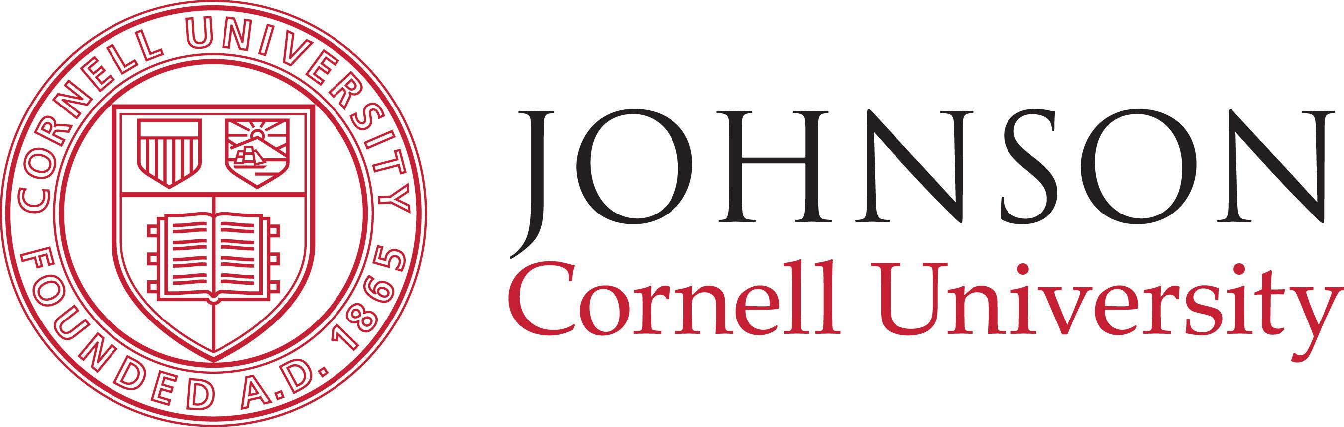 Johnson School at Cornell University logo.