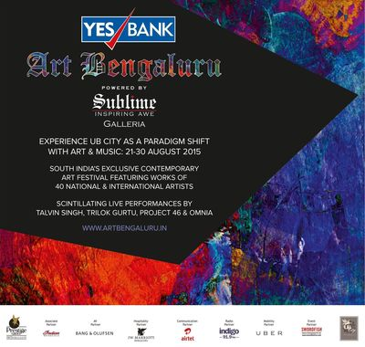 YES BANK Art Bengaluru 2015 - The Most-awaited Art Festival in South India