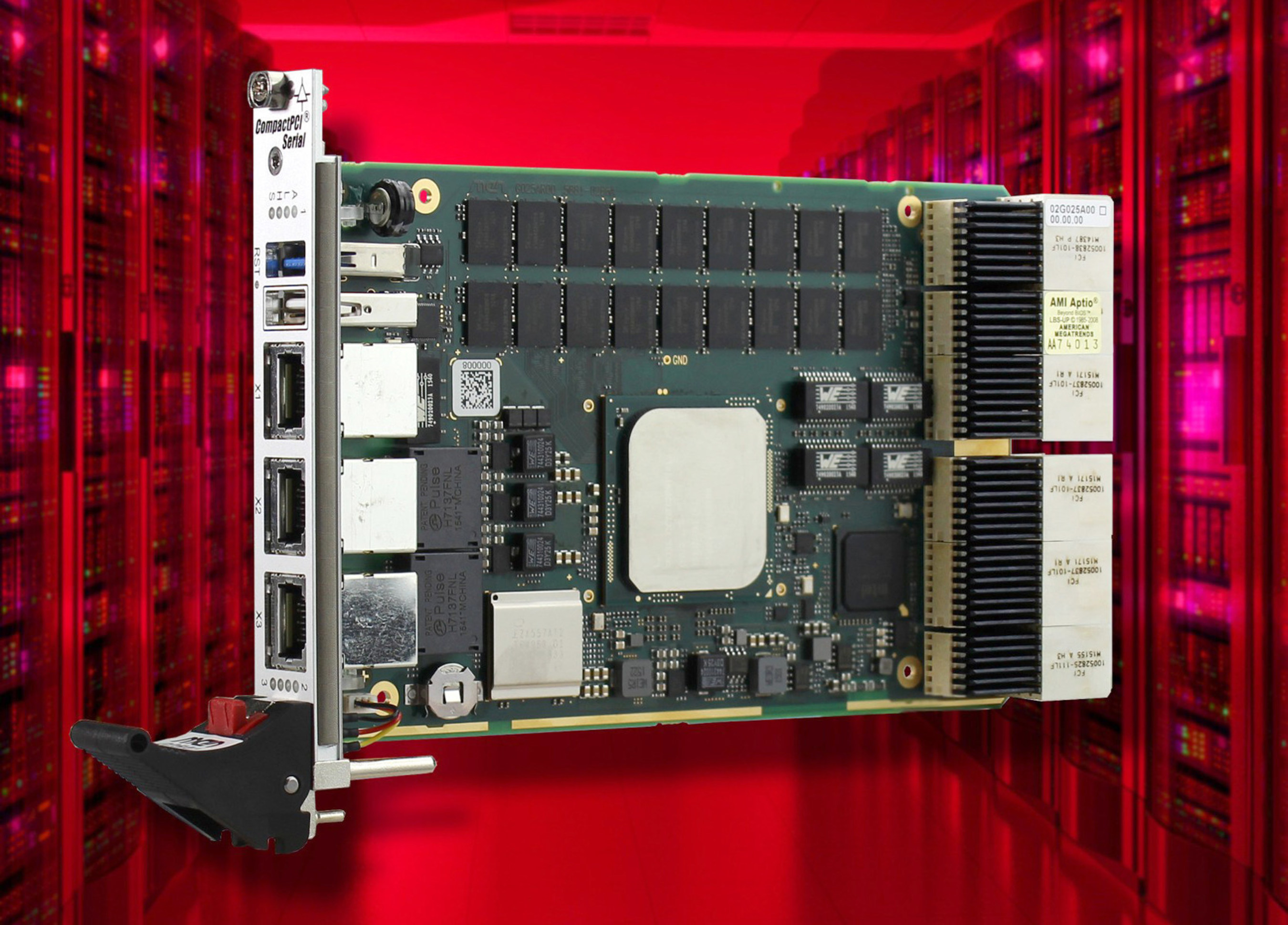 High Bandwidth, High Performance 3U CompactPCI Serial Board First in New Series from MEN Micro