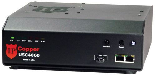 Standalone and fully automatic, the IPCopper USC 4060 continuous packet capture appliance features gigabit ...