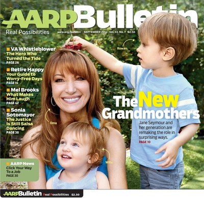 Inside the September Issue of AARP Bulletin (PRNewsFoto/AARP)